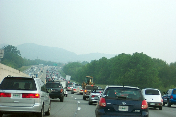 i-65 rush hour traffic in nashville