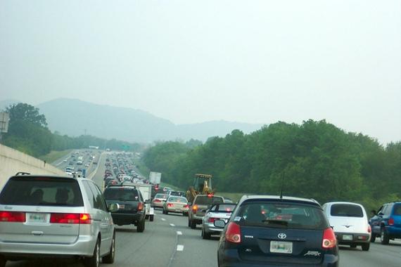 i-65 rush hour traffic in nashville